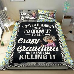 Crazy Grandma Bedding Set %tag familyloves.com