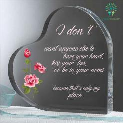 I don't want anyone else to have your heart Heart Keepsake %tag familyloves.com