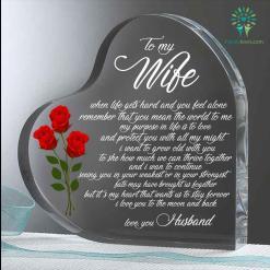 When life gets hard Heart Keepsake %tag familyloves.com
