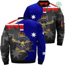 Australian air force 3D print jacket %tag familyloves.com