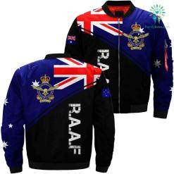 Australian Air force R.A.A.F 3D print jacket %tag familyloves.com