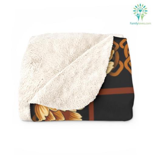 I Am An April Girl I May Not Be Perfect Birthday Sherpa Fleece Blanket blanket fleece fleece blanket perfect %tag familyloves.com