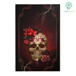 skull Area Rugs