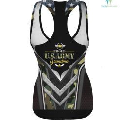 Proud Army Grandma 3D T-shirt %tag familyloves.com