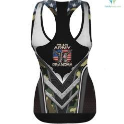 Proud Army Grandma America Flag US Military Pride %tag familyloves.com