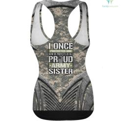 Proud Army Sister Shirt Support Military Brother hoodie shirt %tag familyloves.com
