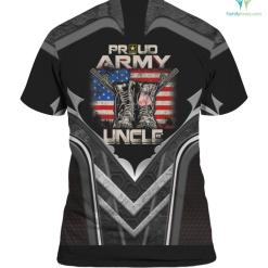 Proud Army Uncle America Flag US Military Pride %tag familyloves.com