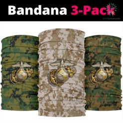 Marine camo Uniform Bandana %tag familyloves.com