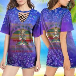 Yoga Shirt Pisces Girl Tshirt For Yoga Black Women Birthday Gifts Yoga Shirts Funny %tag familyloves.com