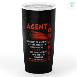 Agent Orange Remember Our Sacrifice Tumbler %tag familyloves.com