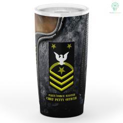 Fleet-Force Master Chief Petty Officer Tumbler %tag familyloves.com