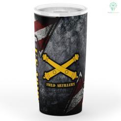 U.s Army Field Artillery Tumbler %tag familyloves.com