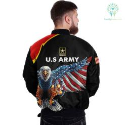 U.S ARMY CLOTHING 3D PRINTED - NEW DESIGN EAGLE US FLAG WING %tag familyloves.com