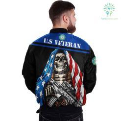 U.S COAST GUARD CLOTHING- 3D PRINTED SKULL WITH FLAG %tag familyloves.com