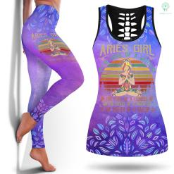 Yoga Pant Sale Aries Girl The Soul Of A Witch Birthday Women Love Yoga Yoga Leggings Brands Legging And Tanktop %tag familyloves.com