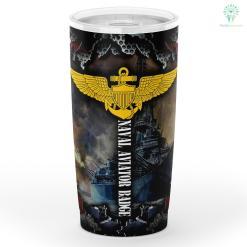 U.s Navy Naval Aviator Badge Tumbler %tag familyloves.com