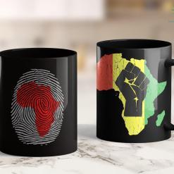 All Lives Matter Movement Fingerprint African American Black History Month 11Oz 15Oz Black Mug %tag familyloves.com
