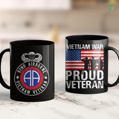 America Clothing 82Nd Airborne Design - 82Nd Airborne Vietnam Veteran 11Oz 15Oz Black Coffee Mug %tag familyloves.com