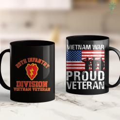 American Vets Donations 25Th Infantry Division Vietnam Veteran 11Oz 15Oz Black Coffee Mug %tag familyloves.com