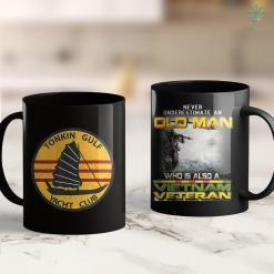 Americans In Vietnam Tonkin Gulf Yacht Club Navy 7Th Fleet Vietnam Vet Tee 11Oz 15Oz Black Coffee Mug %tag familyloves.com