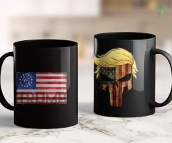 Anti Trump Merch Trump Betsy Ross Flag - Donald Trump 2020 Men Women 11oz Coffee Mug %tag familyloves.com
