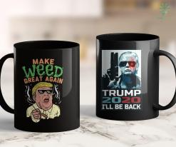 Anti Trump Shirts Funny Trump Marijuana Make Weed Great Again Cannabis 11oz Coffee Mug %tag familyloves.com