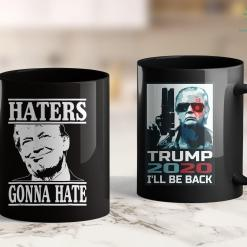 Assassinate Donald Trump Funny Haters Gonna Hate Donald Trump President Tee 11oz Coffee Mug %tag familyloves.com