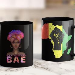 Black Lives Matter Agenda Cute Black Women Shirt Bae Black And Educated Gift 11Oz 15Oz Black Mug %tag familyloves.com