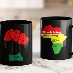 Black Lives Matter Definition Black History Red Black And Green Pride Fist 11Oz 15Oz Black Mug %tag familyloves.com