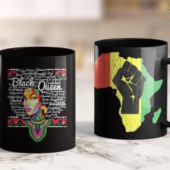 Black Lives Matter Facts Dashiki Black History Shirt - Educated Melanin Gift 11Oz 15Oz Black Mug %tag familyloves.com