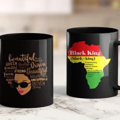 Black Lives Matter News Beautiful Unstoppable Queen Afro Black Girl Magic Gift 11Oz 15Oz Black Mug %tag familyloves.com