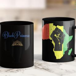 Black Lives Matter Protest Today Natural Hair Afro Shirt For Black Girls - Black Princess 11Oz 15Oz Black Mug %tag familyloves.com