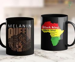 Black Lives Matter Riots Afro Melanin Queen Tee Strong Black Natural African American 11Oz 15Oz Black Mug %tag familyloves.com