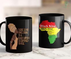 Black Lives Matter Seattle Black Girl Magic Gift African Queen Determined To Rise 11Oz 15Oz Black Mug %tag familyloves.com