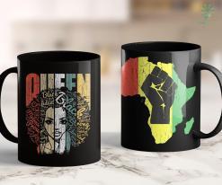 Black Lives Matter Shooting Strong Black Queen African American Tee Natural Afro 11Oz 15Oz Black Mug %tag familyloves.com