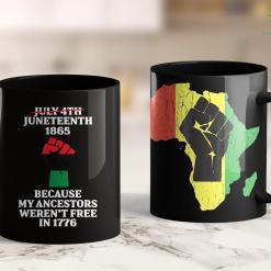 Black Lives Matter Statistics Juneteenth Ancestors Black African American Flag Pride 11Oz 15Oz Black Mug %tag familyloves.com