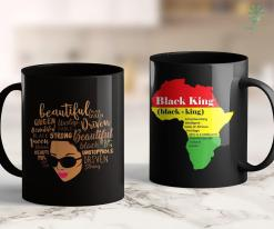 Black Lives Matter Toronto Black Girl Magic Gift Afro Words Driven Unstoppable Queen 11Oz 15Oz Black Mug %tag familyloves.com