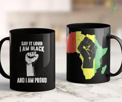 Blackish Online Say It Loud I'M Black &Amp; Proud Black History Month 11Oz 15Oz Black Mug %tag familyloves.com