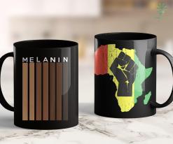 Blacklivesmatter Oheneba Melanin Shades Black Pride Gift 11Oz 15Oz Black Mug %tag familyloves.com