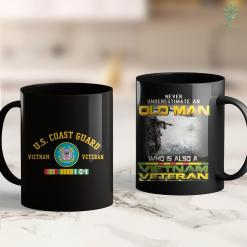 Clothing Donation Pick Up Us Coast Guard Vietnam Veteran 11Oz 15Oz Black Coffee Mug %tag familyloves.com