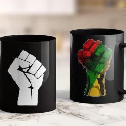 Confused Black Girl Meme Black Power Fist Social Justice Black Lives Matter Tee 11Oz 15Oz Black Mug %tag familyloves.com