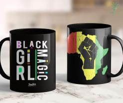 Confused Black Girl Meme Proud African American Proud Black Girl Magic 11Oz 15Oz Black Mug %tag familyloves.com