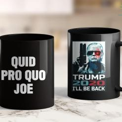 Donald Trump Apparel Funny Trump Quid Pro Quo Joe 11oz Coffee Mug %tag familyloves.com