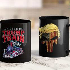 Donald Trump Merch Trump Train 2020 Usa Re-Elect President Trump 11oz Coffee Mug %tag familyloves.com