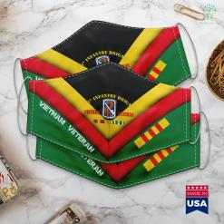Donate Cars To Vets 198Th Infantry Brigade Vietnam Veteran Face Mask Gift %tag familyloves.com