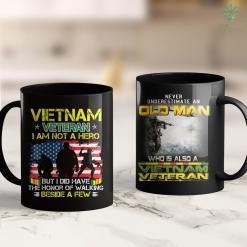 Donate Pick Up Service Vietnam Veteran Boocoo Dinky Dau Tee 11Oz 15Oz Black Coffee Mug %tag familyloves.com