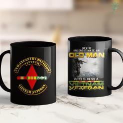 Donate To Va Vietnam Veteran - 5Th Infantry Division 11Oz 15Oz Black Coffee Mug %tag familyloves.com