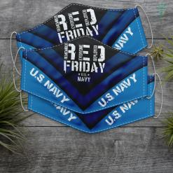 Ds Us Navy Red Friday Us Navy Proud Military Remember Everyone Deployed Face Mask Gift %tag familyloves.com