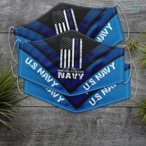 Ds Us Navy Us Navy Veteran Veterans Day Face Mask Gift %tag familyloves.com