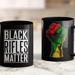 Ebony Live Black Rifles Matter - 2Nd Amendmen - Funny Gun Shirt 11Oz 15Oz Black Mug %tag familyloves.com